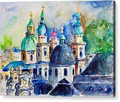 Watercolor Series No. 247 Acrylic Print