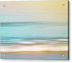 Watercolor Acrylic Print by Wim Lanclus