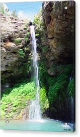 Waterfall 2 Acrylic Print by Jeffrey Kolker