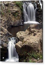 Waterfall 54 Acrylic Print by Marty Koch