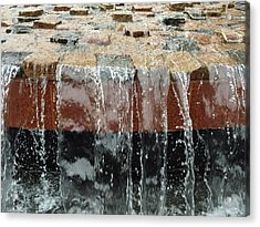 Waterfall Abstract Acrylic Print by Aimee L Maher Photography and Art Visit ALMGallerydotcom