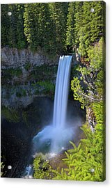Waterfall At Brandywine Falls Provincial Park Acrylic Print by David Gn