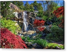 Acrylic Print featuring the photograph Waterfall At Maymont by Rick Berk