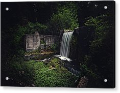 Waterfall At Paradise Springs Acrylic Print