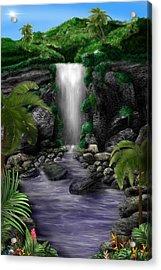 Waterfall Creek Acrylic Print