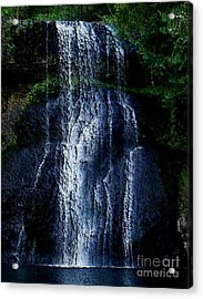 Acrylic Print featuring the photograph Waterfall by Erica Hanel