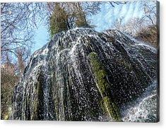 Waterfall From Below Acrylic Print