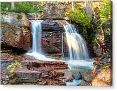 Acrylic Print featuring the photograph Waterfall by Gary Lengyel
