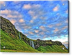 Acrylic Print featuring the photograph Waterfall Hill by Scott Mahon