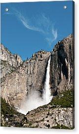 Waterfall Acrylic Print by Ida C. Shum