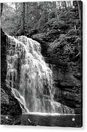 Waterfall Acrylic Print by Jessica Dandridge