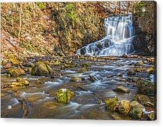 Waterfall Of April Snow Acrylic Print