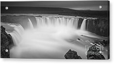 Waterfall Of The Gods Iceland Acrylic Print