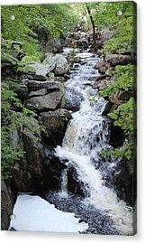 Waterfall Pillsbury State Park Acrylic Print