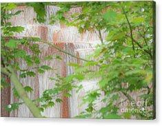Waterfall, Portland Acrylic Print