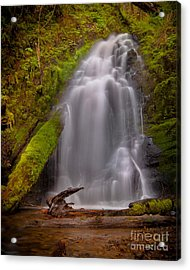 Waterfall Showers Acrylic Print