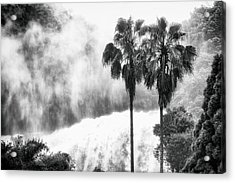 Acrylic Print featuring the photograph Waterfall Sounds by Hayato Matsumoto