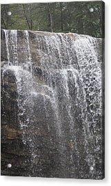 Waterfalls Acrylic Print by Heather Green
