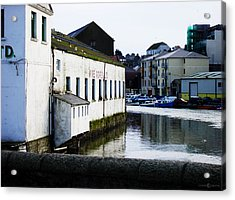 Waterfront Factory Acrylic Print