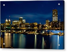 Waterfront Lights Acrylic Print