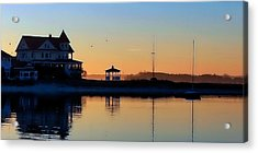 Waterfront Living Acrylic Print