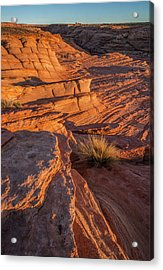 Waterhole Canyon Sunset Vista Acrylic Print