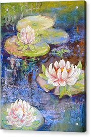 Waterlillies Acrylic Print