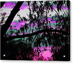 Acrylic Print featuring the photograph Waterloo Sunset by Susan Carella