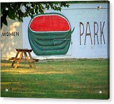 Watermellon Park Acrylic Print