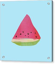 Watermelon Acrylic Print by Jacquie Gouveia