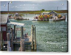 Watermen Of Tangiers Acrylic Print by Glenn Gemmell