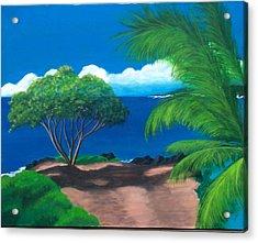 Water's Edge Acrylic Print by Nancy Nuce