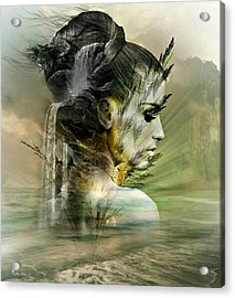 Waters Of The Whispered Sole Acrylic Print