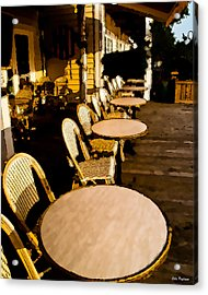 Waterside Cafe Acrylic Print