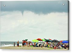 Waterspout Acrylic Print by JAMART Photography