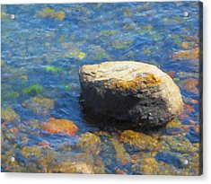 Waterstone Acrylic Print