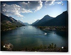 Waterton Lake Acrylic Print