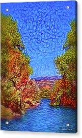 Waterway Reverie Acrylic Print