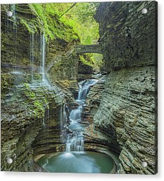 Acrylic Print featuring the photograph Watkins Glen 07 Panorama by Jim Dollar
