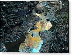 Watkins Glen Gorge  Acrylic Print by Jessica Jenney