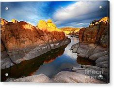 Watson Lake Arizona 10 Acrylic Print
