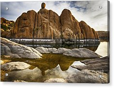 Watson Lake Arizona 11 Acrylic Print