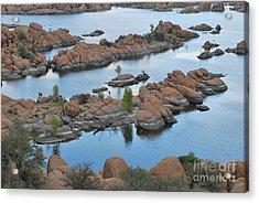 Watson Lake Arizona Fingerlings Number 2 Acrylic Print