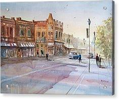 Waupaca - Main Street Acrylic Print