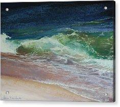 Wauwinet Wave IIi Acrylic Print by Jeanne Rosier Smith