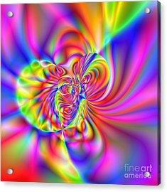 Wave 006b Acrylic Print by Rolf Bertram