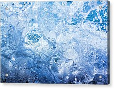 Wave With Hole Acrylic Print