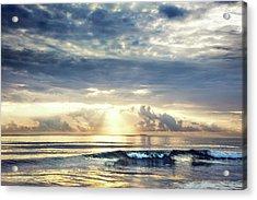 Wave At Dawn Acrylic Print