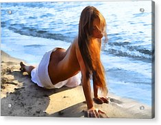 Wave Baby 2 Acrylic Print by Naman Imagery