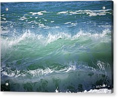 Wave Acrylic Print by Barbara MacPhail